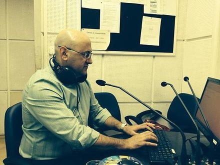 No estúdio (1)